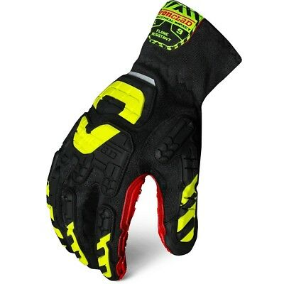 Flame Resistant Gloves - NEW LARGE IRONCLAD Vibram FLAME RESISTANT Gloves VIB-FRES-04-L Size Large