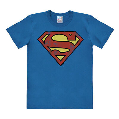 Easy Fit Shirt (LOGOSHIRT - DC Comics: Superhero - Superman Logo - Vintage - Easyfit T-Shirt)