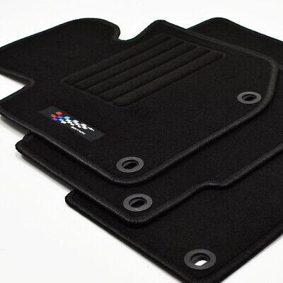 Fußmatten Auto Autoteppich Velours Set passend für BMW 3 E46 Cabrio 1998-2004