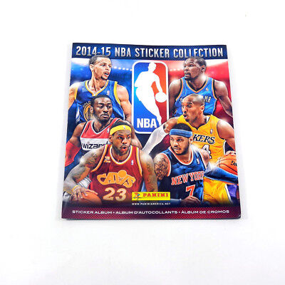 2014-15 Panini Basketball NBA Sticker Album 72 Page + 10 Stickers Inside comprar usado  Enviando para Brazil