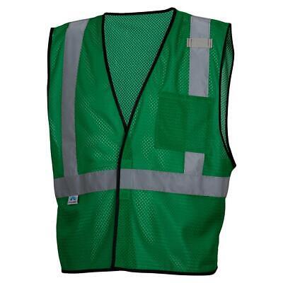 Pyramex Non-ansi Reflective Mesh Safety Vest - Green
