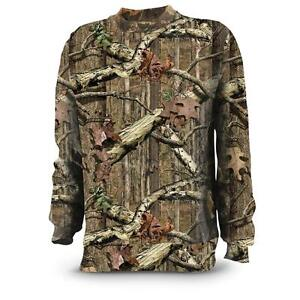 Russell-Outdoors-Mens-S-3XL-Long-Sleeve-Mossy-Oak-Break-Up-Infinity-T-shirt-Tee