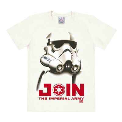 Easy Fit Shirt (LOGOSHIRT - Star Wars - Soldat - Stormtrooper - Easyfit T-Shirt - altweiß)