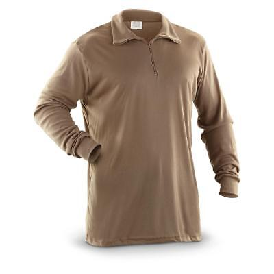 NEW GENUINE US ARMY ECWCS POLYPRO COLD WEATHER THERMAL UNDERSHIRT/SHIRT. XL.