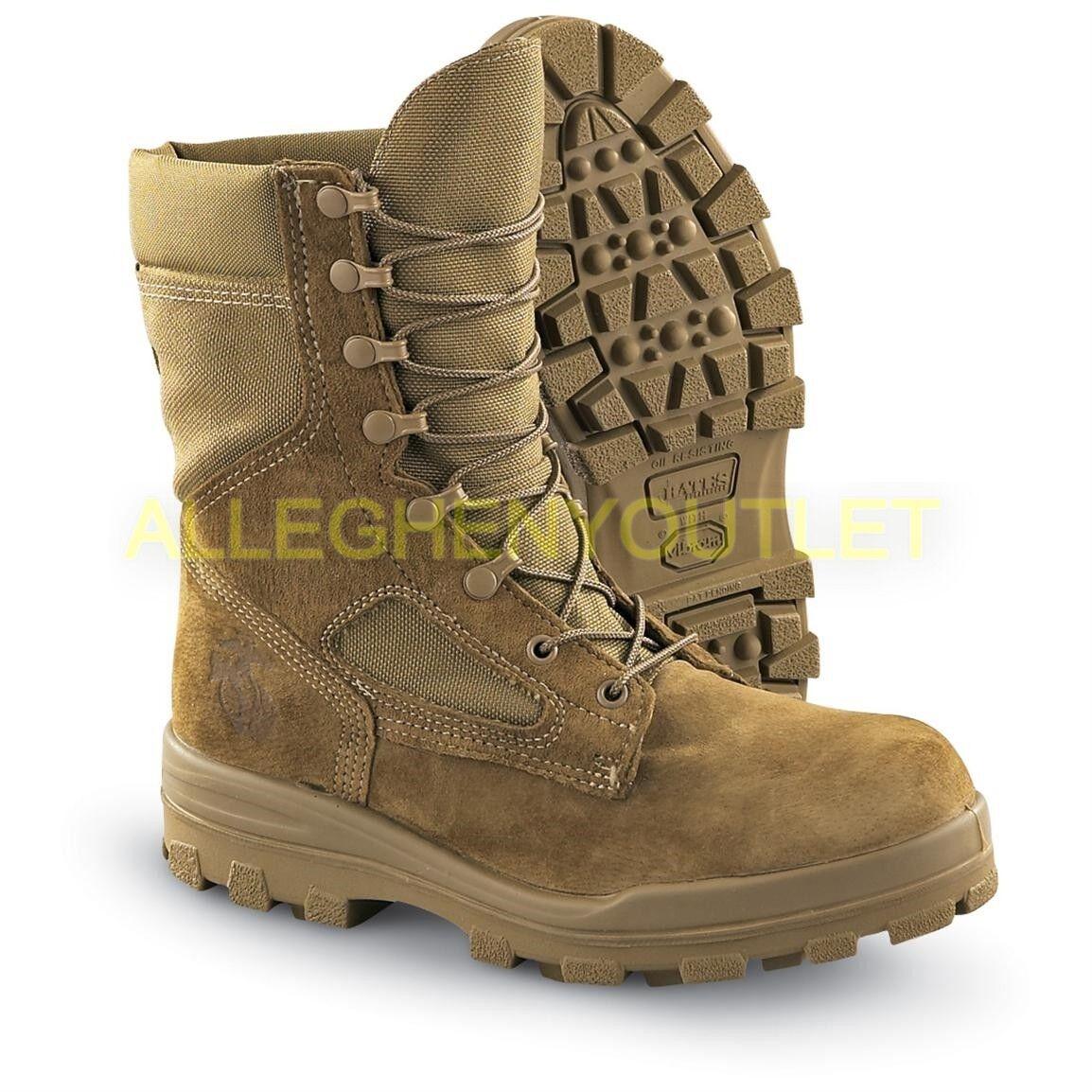 USMC Mens GoreTex Temperate Weather Boots Vibram Durashock S