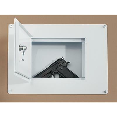 Wall Safe Concealment Hand Gun Safes Home Cash Security Lock Box Flush Mount NEW