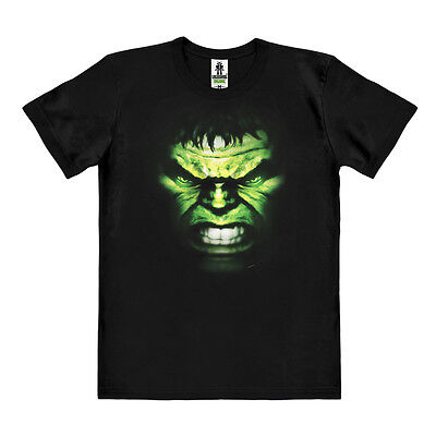 Easy Fit Shirt (Marvel Comics: Incredible Hulk - Gesicht Easy Fit  Organic T-Shirt - LOGOSHIRT)