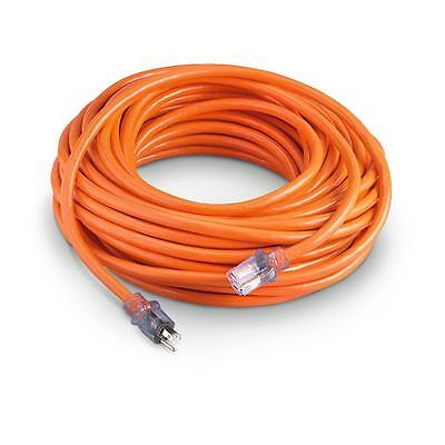Extension Cord 100 Ft 14 Gauge Heavy Duty Contractor Lit Ends UL 14/3 AWG Feet ()