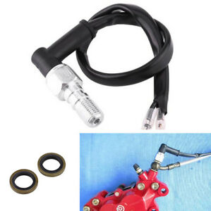 Motorcycle Brake Pressure Light Switch Bolt Single Line Hydraulic Brake Systems