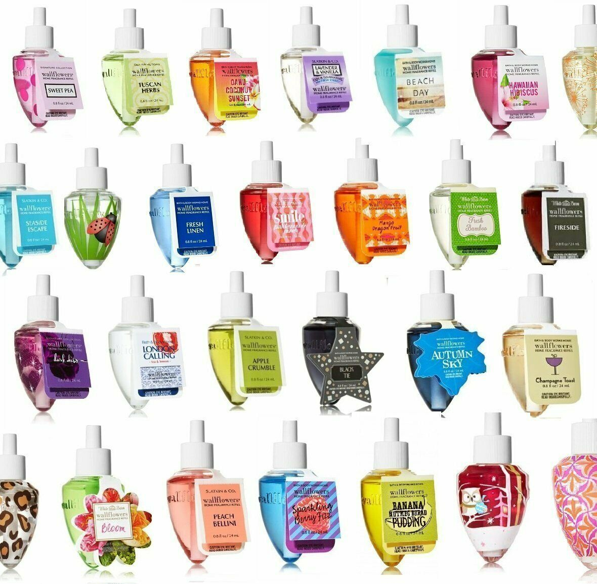 Authentic Bath And Body Works Wallflowers Home Fragrance Ref