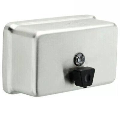 Delta Soap Dispenser Commercial Stainless Steel 40oz Capacity. 44081-ss. 4c3