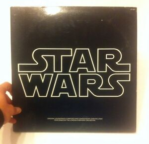 Star-Wars-Original-Soundtrack-On-Vinyl-Record-Composed-By-John-Williams-VTG-1977