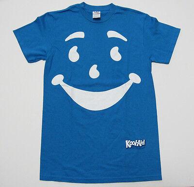 Kool-Aid Man Small T-Shirt Blue Face Tee Costume - Kool Aid Costume