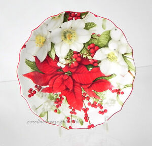 222 fifth winter harmony christmas appetizer canape snack for Christmas canape plates