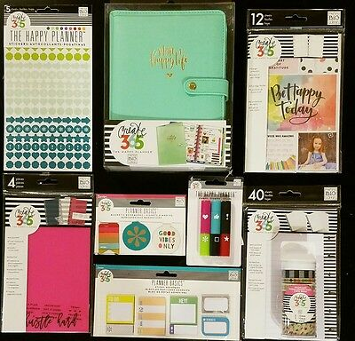 Create 365 The Mini Happy Planner Deluxe Cover & Accessories Pack New 2017 Mambi