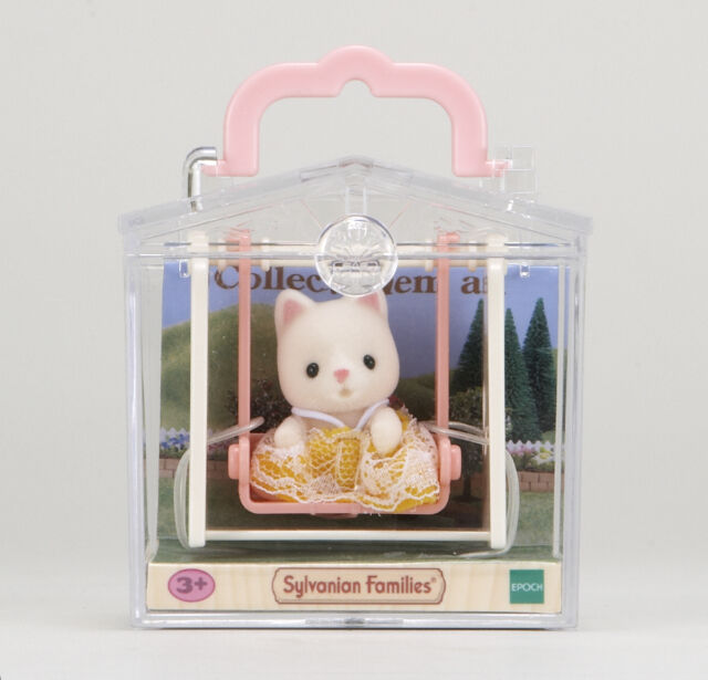 Sylvanian Families Cat on Swing Baby Carry Case