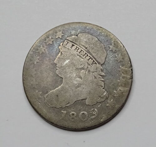 1809 Capped Bust Dime - Rare Early Date