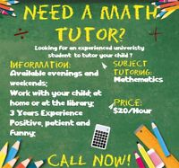Math Tutoring Service