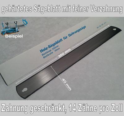 Ersatzsägeblatt für Gehrungssäg, gehärtet mit feiner Verzahnung, 350 mm