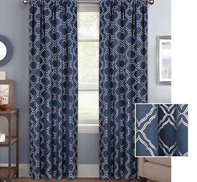 Better Homes & Gardens Trellis Room Darkening(1)Curtain Panel 50