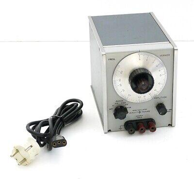 HP HEWLETT PACKARD 204B OSCILLATOR Audio Generator mit netzkabel Top+1J.Garantie