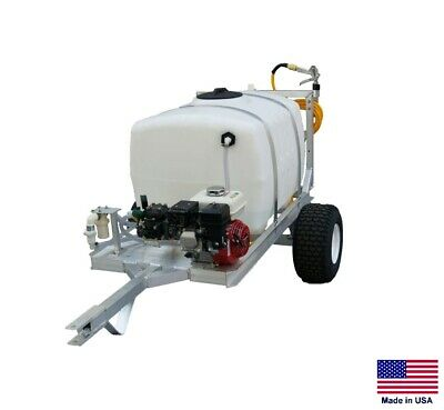 Sprayer Commercial - Trailer Mounted - 9.5 Gpm - 580 Psi - 50 Gallon Tank