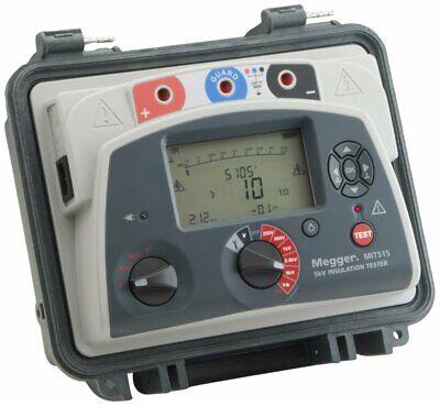 Megger Mit515 5-kv Cat Iv Diagnostic Insulation Resistance Tester Pi Dar Dd 5000