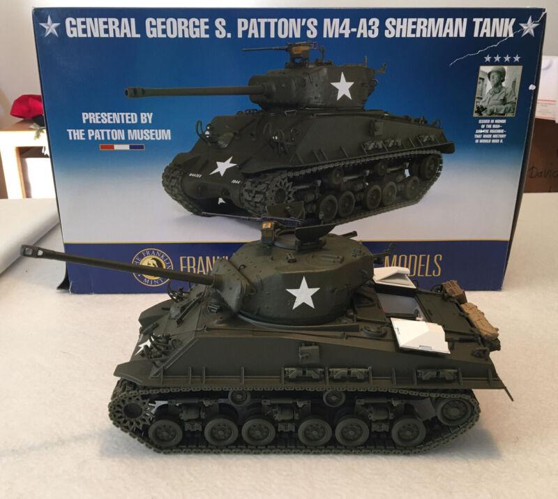 General George S. Patton's M4-A3 Sherman Tank