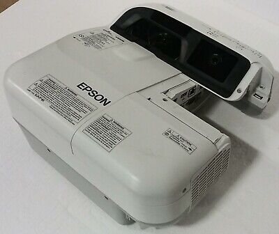 Epson BrightLink 595Wi H599A WXGA 3LCD Interactive Projector - 3657 hours - READ