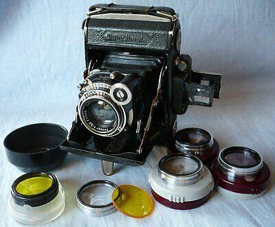 Zeiss Ikon Super Ikonta A 530 Rangefinder Camera (X90942) 1934 - 1937, Extras