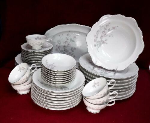 MITTERTEICH china Bavaria Germany FRAGRANCE pattern 49-Piece SET SERVICE for 8