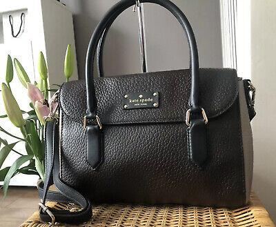 Beautiful Genuine Kate Spade New York Leather Satchel Shoulder Bag Handbag