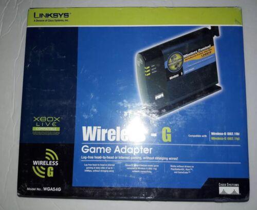 LINKSYS Cisco WGA54G WIFI WIRELESS G Ethernet Game Computer