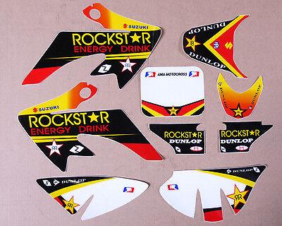Honda Xr Crf 50 Rockstar Decals Xr50 Crf50 Graphic Sticker Kit