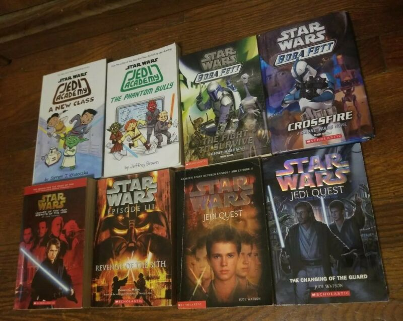 Star Wars Mixed Lot Of 22 Scholastic and Kid Books