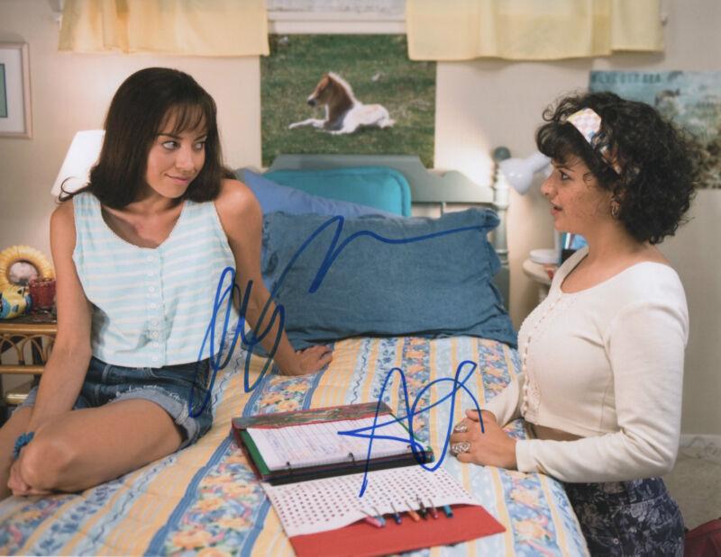 GFA The To Do List * AUBREY PLAZA & ALIA SHAWKAT * Signed 8x10 Photo COA