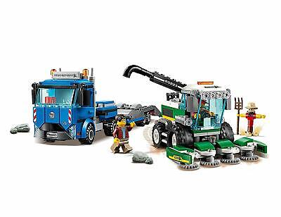 LEGO 60223 CITY HARVESTER TRANSPORT - GREAT VEHICLES INC TRUCK & TRAILER - BNIB!