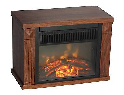Table Top Amish Heater Mini Office Space Indoor Warmer Portable Heater FirePlace