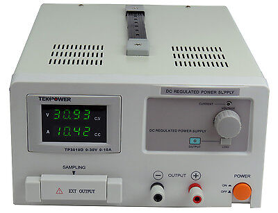 Tekpower Tp3010d Dc Adjustable Linear Power Supply 30v 10a With Digital Display