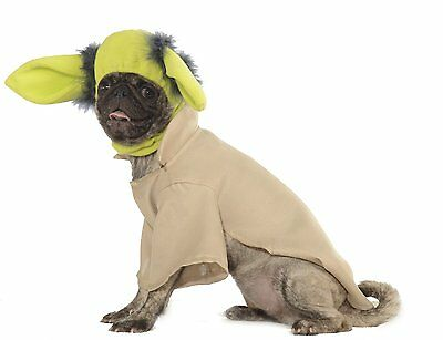 Rubies Star Wars Yoda Collection Pet Costume New! Large