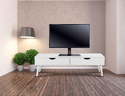 Supporto universale da tavolo per TV LCD / LED con base in vetro - da 26 a 50 '