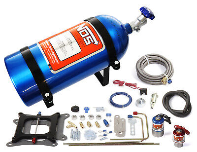 Nitrous Fuel System - NOS Cheater Nitrous System 150-250 HP 4 bbl/Holley Quick Fuel Edelbrock 02001NOS