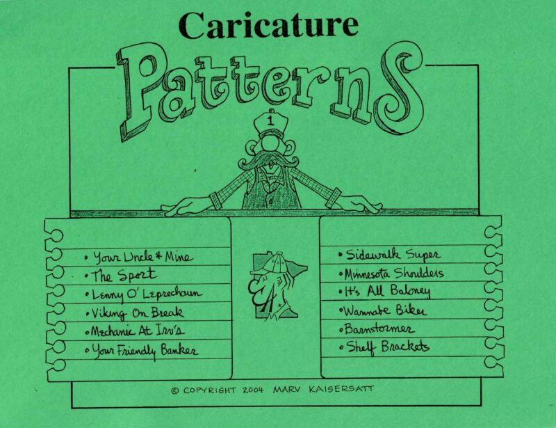 Caricature Patterns #2 - Kaisersatt