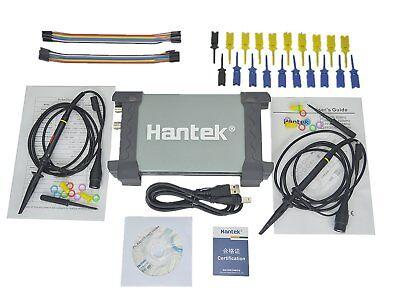 Hantek 6022bl Pc-based Usb Portable Oscilloscope 20mhz 16channels Logic Analyzer