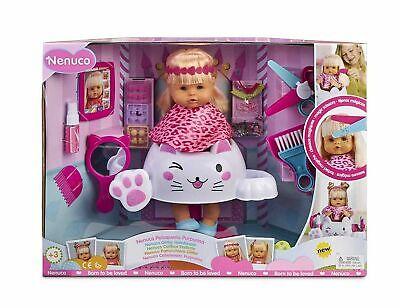 Nenuco 700004685 Glitter Hair Dresser Doll