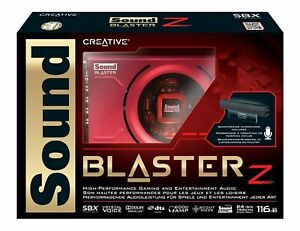 Creative Sound Blaster Z Gaming Sound Card With Beamforming Mic For Windows 7//8