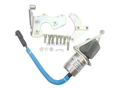 12v Fuel Stop Shut Off Solenoid 3919422 Sa-4026-12 For Cummins Engine 6bt 5.9l
