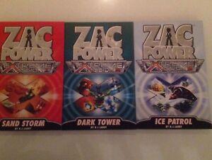 Brand New Zac Power Children's Book Sets - Used goosebumps set