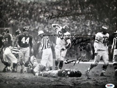 Chuck Bednarik Autographed Signed 8x10 Photo