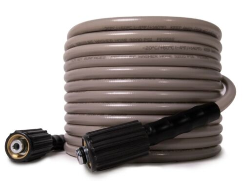 WASPPER 3200 PSI Max 25FT x 1/4 Inch, Kink Resistant Pressure Washer Hose M22
